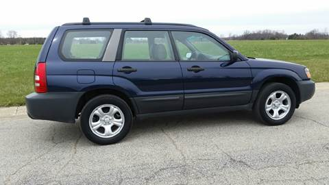 2005 Subaru Forester for sale at Ryan Motors LLC in Warsaw IN