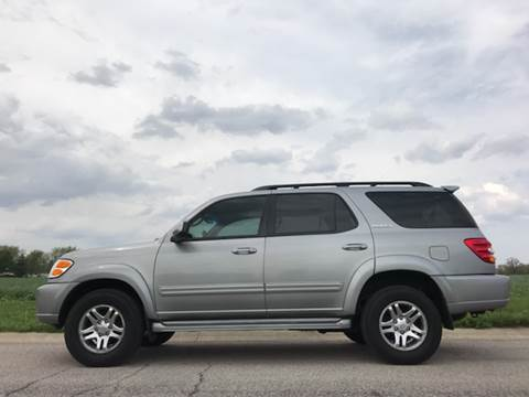 2003 Toyota Sequoia for sale at Ryan Motors LLC in Warsaw IN