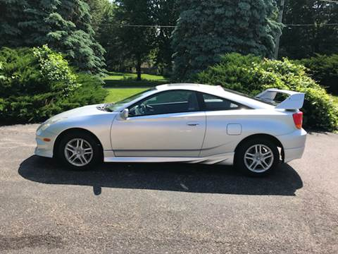 2002 Toyota Celica for sale at Ryan Motors LLC in Warsaw IN