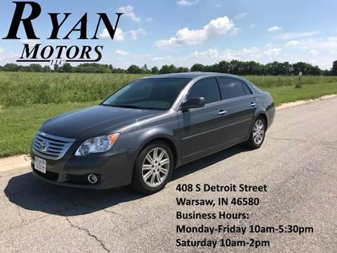 2009 Toyota Avalon for sale at Ryan Motors LLC in Warsaw IN