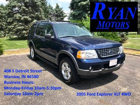 2005 Ford Explorer for sale at Ryan Motors LLC in Warsaw IN