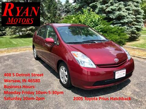 2005 Toyota Prius for sale at Ryan Motors LLC in Warsaw IN