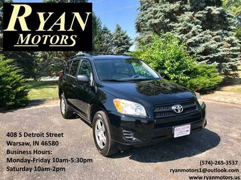 2010 Toyota RAV4 for sale at Ryan Motors LLC in Warsaw IN