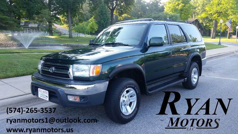 1999 Toyota 4Runner For Sale At Ryan Motors LLC In Warsaw IN