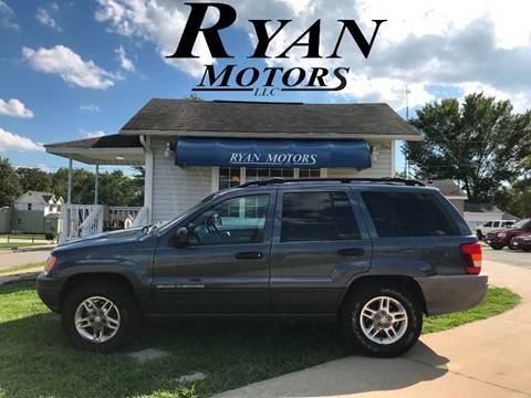 2003 Jeep Grand Cherokee for sale at Ryan Motors LLC in Warsaw IN