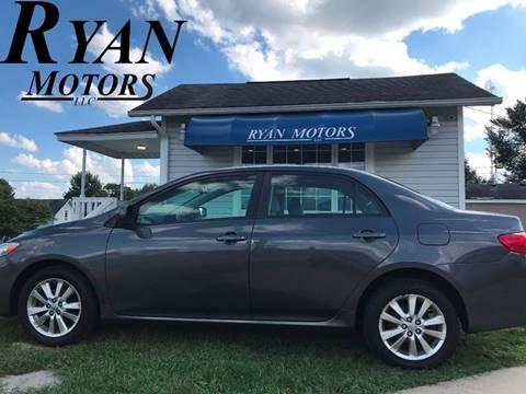 2009 Toyota Corolla for sale at Ryan Motors LLC in Warsaw IN