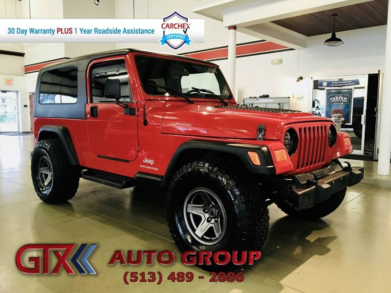 2006 Jeep Wrangler For Sale At GTX Auto Group In West Chester OH