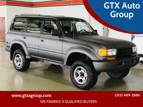 1995 Toyota Land Cruiser for sale at GTX Auto Group in West Chester OH