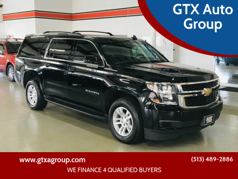 2019 Chevrolet Suburban for sale at GTX Auto Group in West Chester OH