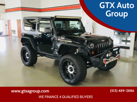 2009 Jeep Wrangler for sale at GTX Auto Group in West Chester OH