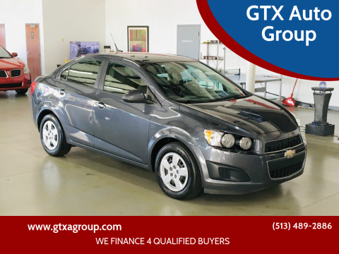2013 Chevrolet Sonic for sale at GTX Auto Group in West Chester OH
