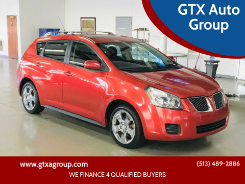 2009 Pontiac Vibe for sale at GTX Auto Group in West Chester OH