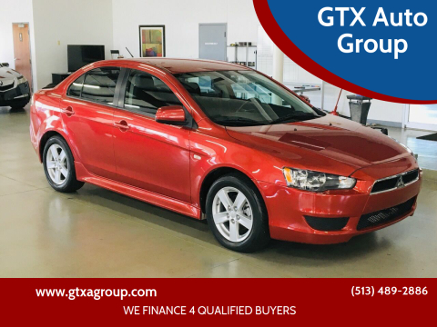 2014 Mitsubishi Lancer for sale at GTX Auto Group in West Chester OH