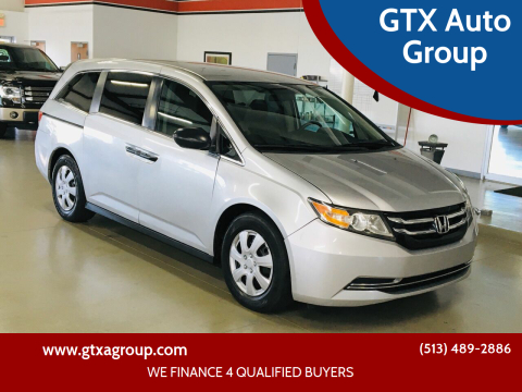 2014 Honda Odyssey for sale at GTX Auto Group in West Chester OH