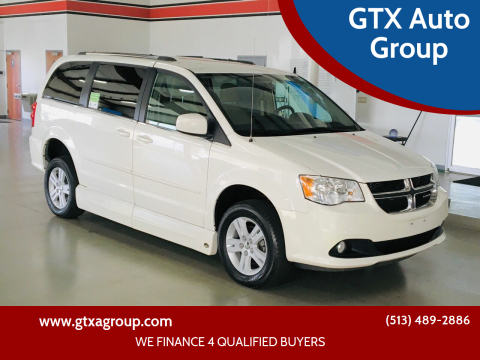 2011 Dodge Grand Caravan for sale at GTX Auto Group in West Chester OH
