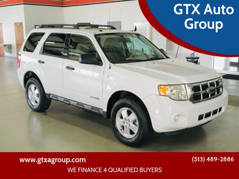 2008 Ford Escape for sale at GTX Auto Group in West Chester OH