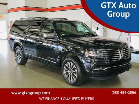 2015 Lincoln Navigator L for sale at GTX Auto Group in West Chester OH