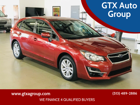 2015 Subaru Impreza for sale at GTX Auto Group in West Chester OH