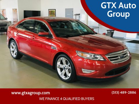 2010 Ford Taurus for sale at GTX Auto Group in West Chester OH