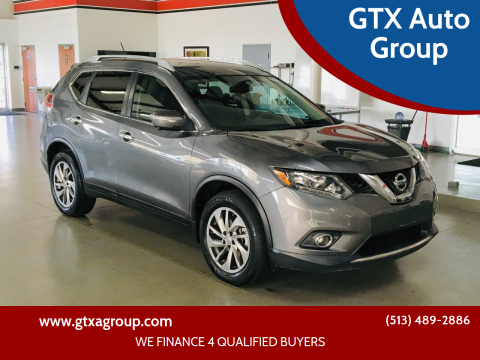 2014 Nissan Rogue for sale at GTX Auto Group in West Chester OH