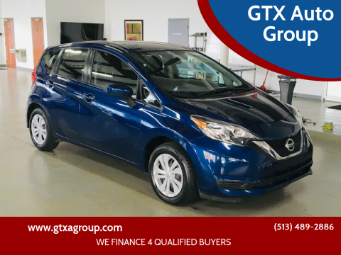 2017 Nissan Versa Note for sale at GTX Auto Group in West Chester OH
