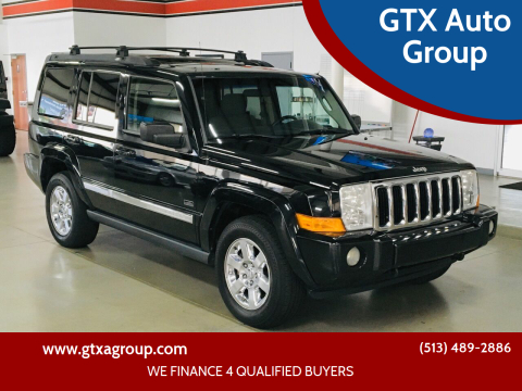 2007 Jeep Commander for sale at GTX Auto Group in West Chester OH
