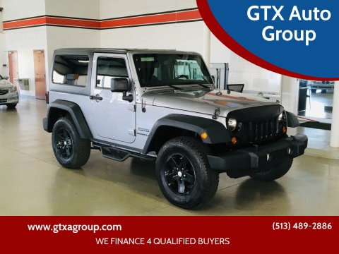 2013 Jeep Wrangler for sale at GTX Auto Group in West Chester OH