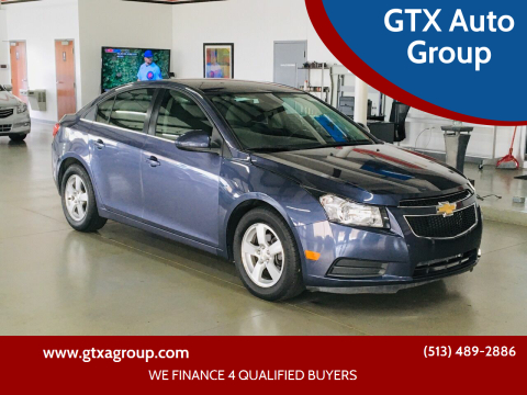 2014 Chevrolet Cruze for sale at GTX Auto Group in West Chester OH