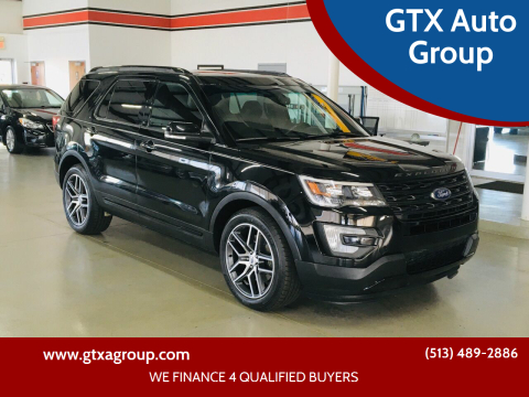 2016 Ford Explorer for sale at GTX Auto Group in West Chester OH