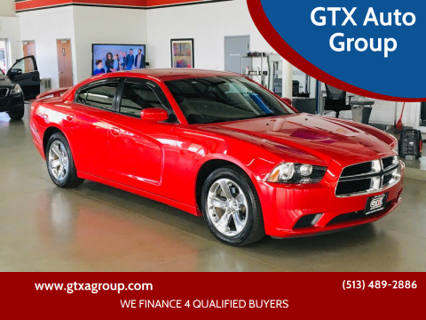 2012 Dodge Charger for sale at GTX Auto Group in West Chester OH