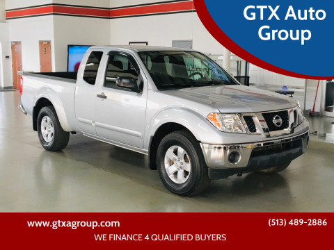 2010 Nissan Frontier for sale at GTX Auto Group in West Chester OH