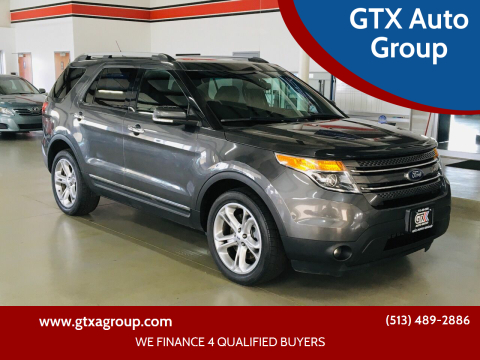 2015 Ford Explorer for sale at GTX Auto Group in West Chester OH
