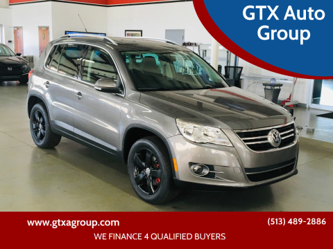 2010 Volkswagen Tiguan for sale at GTX Auto Group in West Chester OH