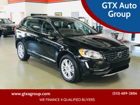 2016 Volvo XC60 for sale at GTX Auto Group in West Chester OH