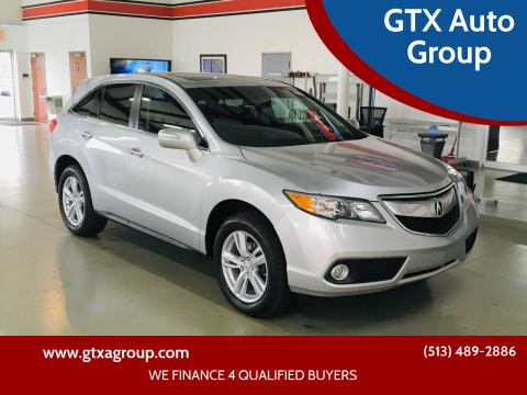 2014 Acura RDX for sale at GTX Auto Group in West Chester OH