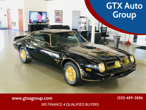 1976 Pontiac Trans Am for sale at GTX Auto Group in West Chester OH
