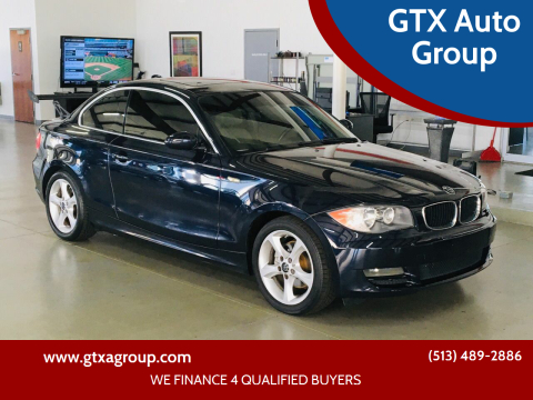 2009 BMW 1 Series for sale at GTX Auto Group in West Chester OH