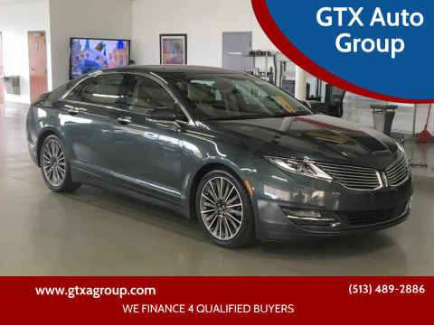 2016 Lincoln MKZ Hybrid for sale at GTX Auto Group in West Chester OH