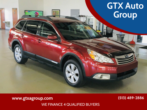 2012 Subaru Outback for sale at GTX Auto Group in West Chester OH