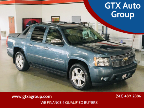 2010 Chevrolet Avalanche for sale at GTX Auto Group in West Chester OH