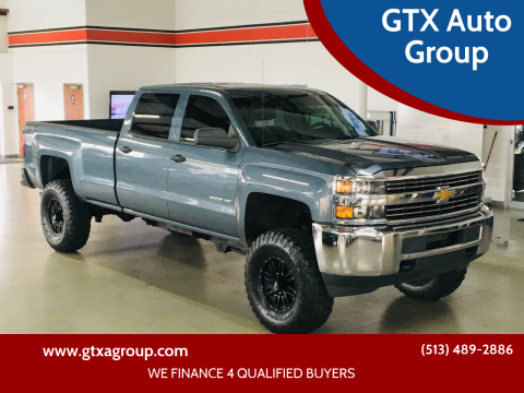 2015 Chevrolet Silverado 2500HD for sale at GTX Auto Group in West Chester OH