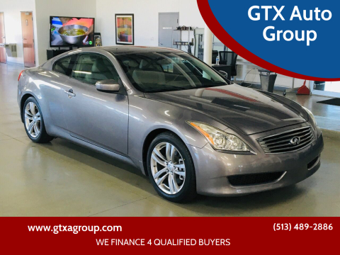2009 Infiniti G37 Coupe for sale at GTX Auto Group in West Chester OH