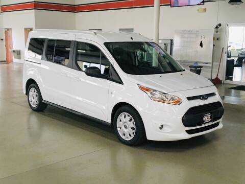 2017 Ford Transit Connect Wagon for sale at GTX Auto Group in West Chester OH