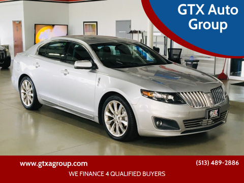2012 Lincoln MKS for sale at GTX Auto Group in West Chester OH