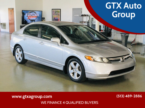 2008 Honda Civic for sale at GTX Auto Group in West Chester OH