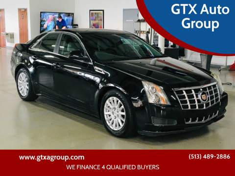 2013 Cadillac CTS for sale at GTX Auto Group in West Chester OH