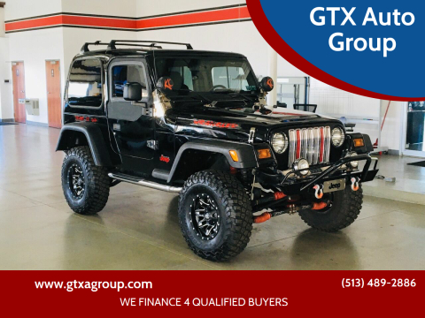2003 Jeep Wrangler for sale at GTX Auto Group in West Chester OH