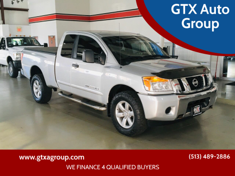 2013 Nissan Titan for sale at GTX Auto Group in West Chester OH