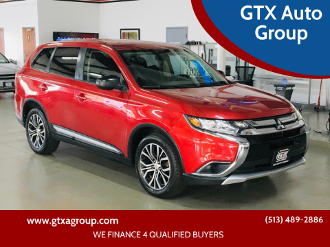 2016 Mitsubishi Outlander for sale at GTX Auto Group in West Chester OH