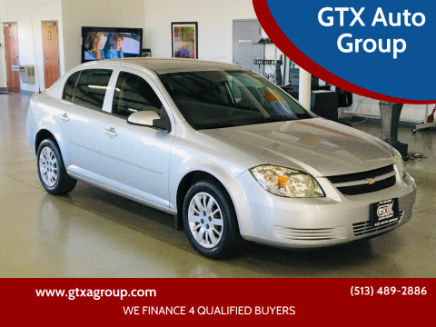 2010 Chevrolet Cobalt for sale at GTX Auto Group in West Chester OH